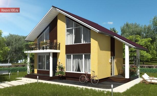 Строительство домов из пеноблоков под ключ в Твери и Тверской